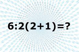 6:2(2+1)=?