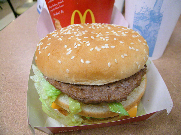 Big Mac z McDonaldsa ma 510 kcal
