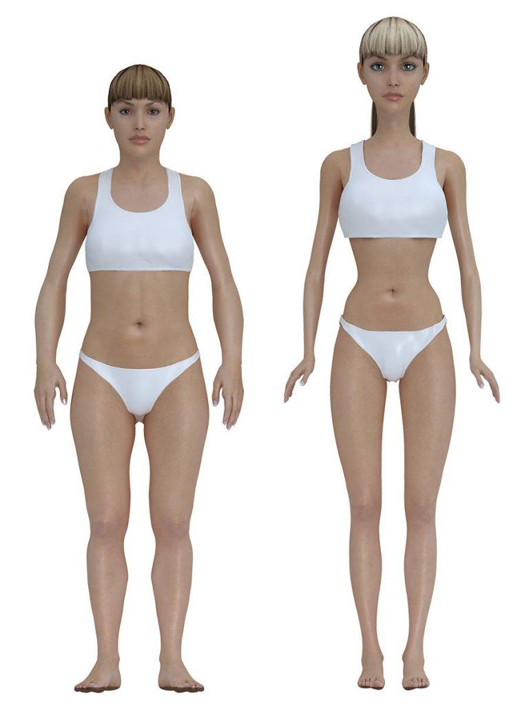 Przy takich wymiarach w brzuchu Barbie zmieściłoby się pół wątroby i kilkadziesiąt centymetrów jelita.