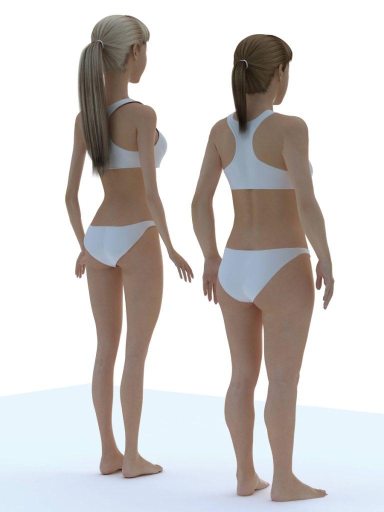 Nogi Barbie są o 50% dłuższe od rąk. U kobiety różnica wynosi 20%.