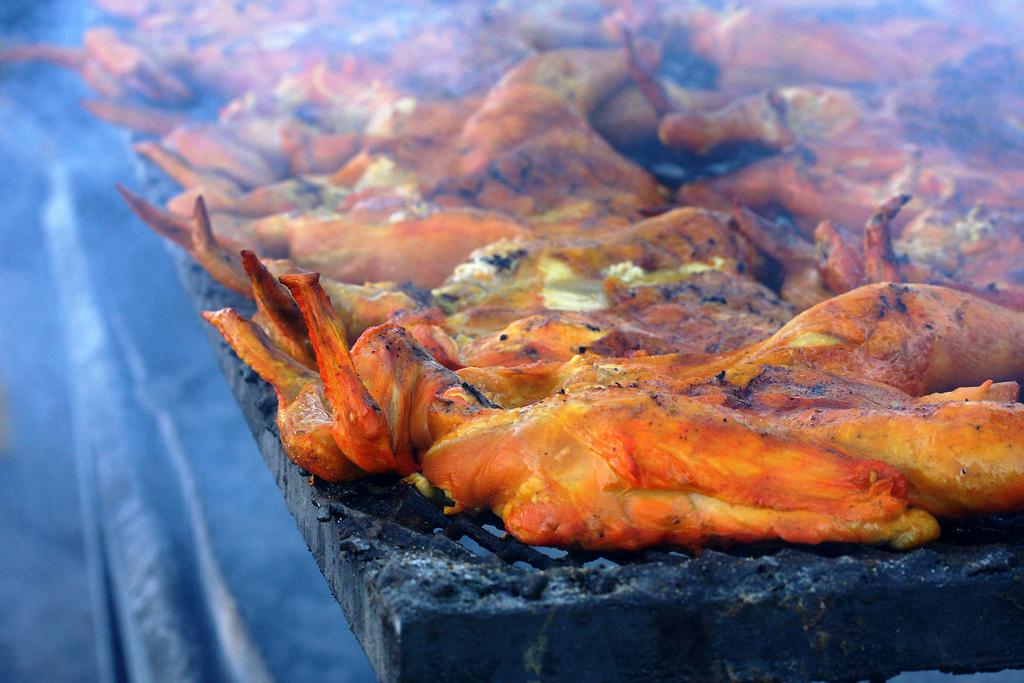 Kurczak z grilla. Fot. cobalt123/Flickr