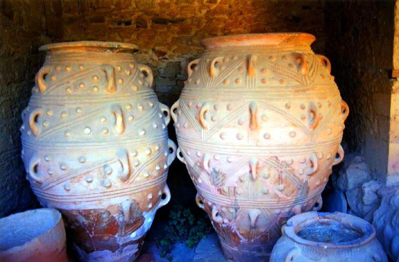 Tak przechowywano miód na Krecie 3800 lat temu. Fot.