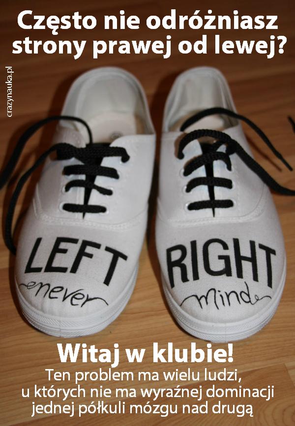 Dlaczego nie odróżniamy lewej strony od prawej? Fot. Flickr