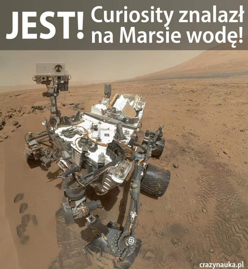 Jest woda na Marsie
