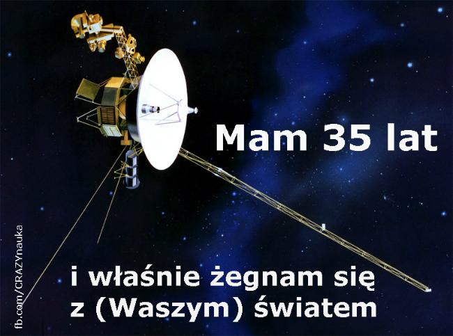 Voyager. Rys. NASA