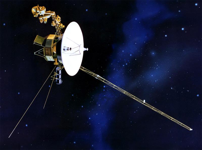 Voyager 1 opuścił Układ Słoneczny. rys. NASA
