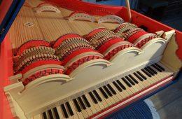 Viola organista - konstrukcja instrumentu