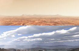 Mars dziś i przed miliardami lat