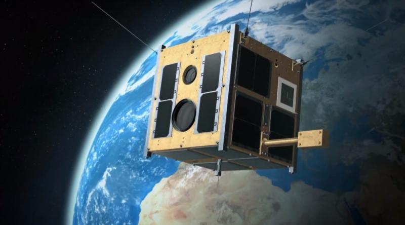 Pierwszy polski satelita naukowy Lem staruje 21 listopada. Ilustracja: BRITE-PL