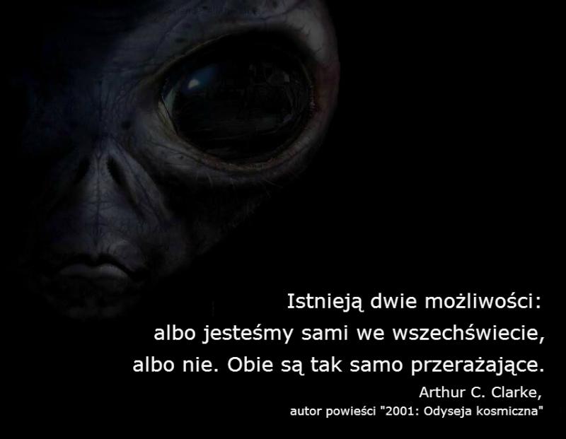 Cytat z Arthura C. Clarke'a