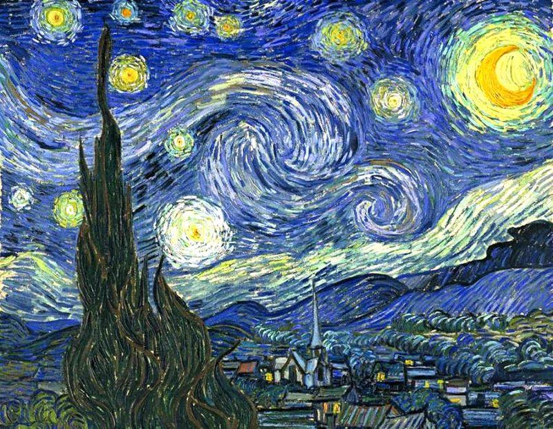 """""""Gwiaździsta noc"""" Van Gogha"""