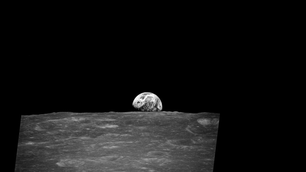 Wschód Ziemi, zdjęcie pierwsze