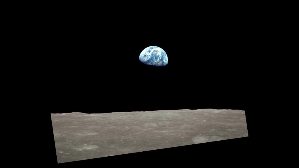 Wschód Ziemi, zdjęcie drugie
