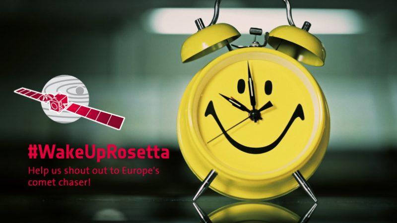 """Weźcie udział w konkursie """"Wake Up Rosetta!"""""""