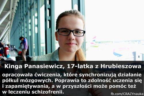 Kinga Panasiewicz z Hrubieszowa, laureatka międzynarodowego finału E(x)plory