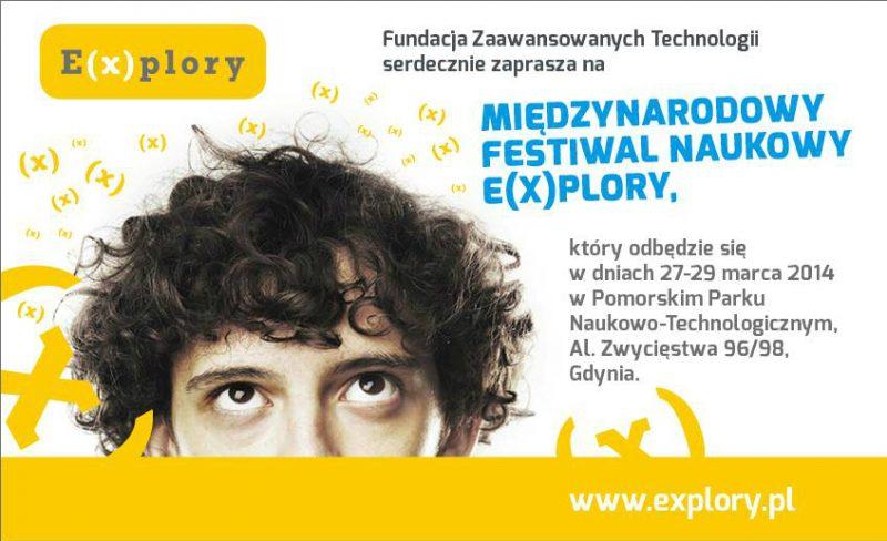 Międzynarodowy Festiwal Naukowy E(x)plory Gdynia 2014