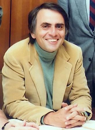 Carl Sagan. Fot. Wikimedia