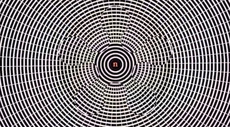 Złudzenie optycznie, które wywołuje halucynacje