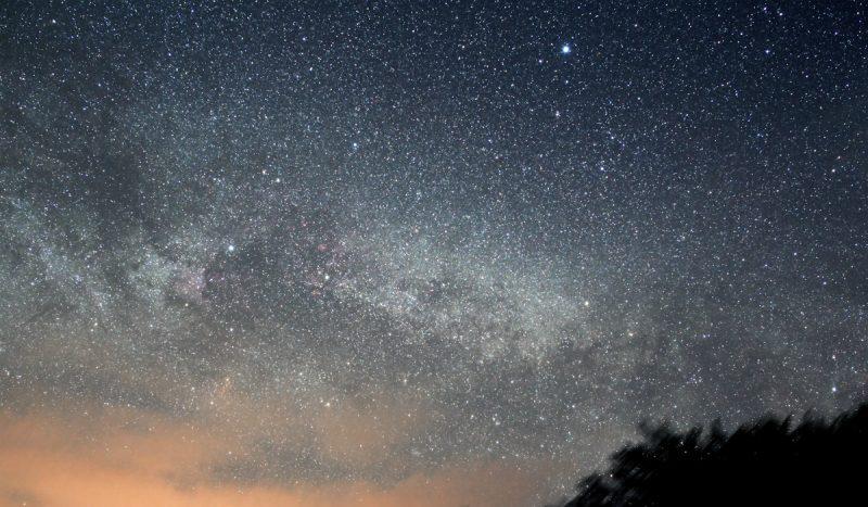Droga Mleczna nad Stężnicą w Bieszczadach. Fot. Darek Bobak