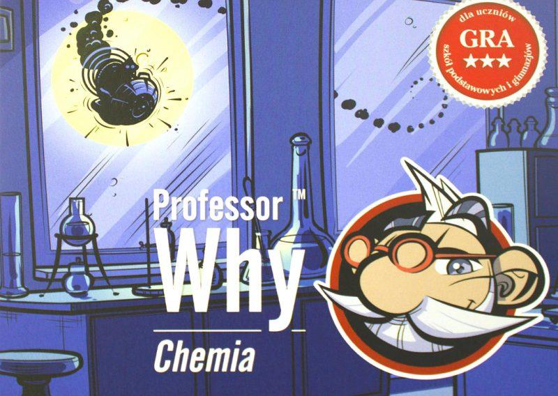 """Gra edukacyjna """"Professor Why. Chemia"""" to Młody Chemik w bezpiecznym wydaniu. Fot. CTAdventure"""