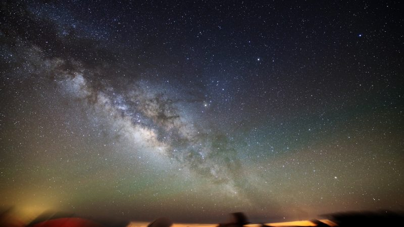 Droga Mleczna widziana z Obserwatorium Teide na Teneryfie. Fot. Dariusz Bobak