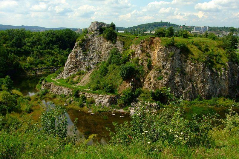 Rezerwat Kadzielnia w Kielcach. Fot. Ferdziu