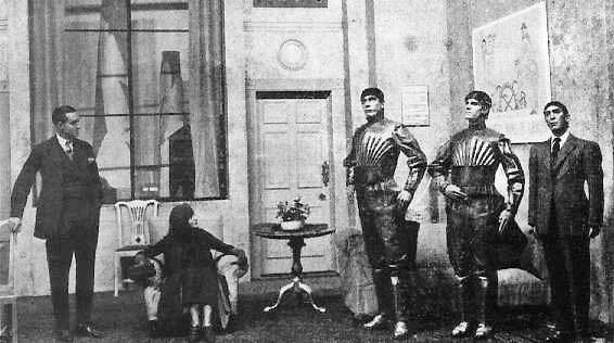 """Słowo """"robot"""" po raz pierwszy pojawiło się w 1920 roku w czeskiej sztuce teatralnej autorstwa Karela Čapka """"R.U.R."""" (Roboty Uniwersalne Rossuma). Fot. Wikimedia"""