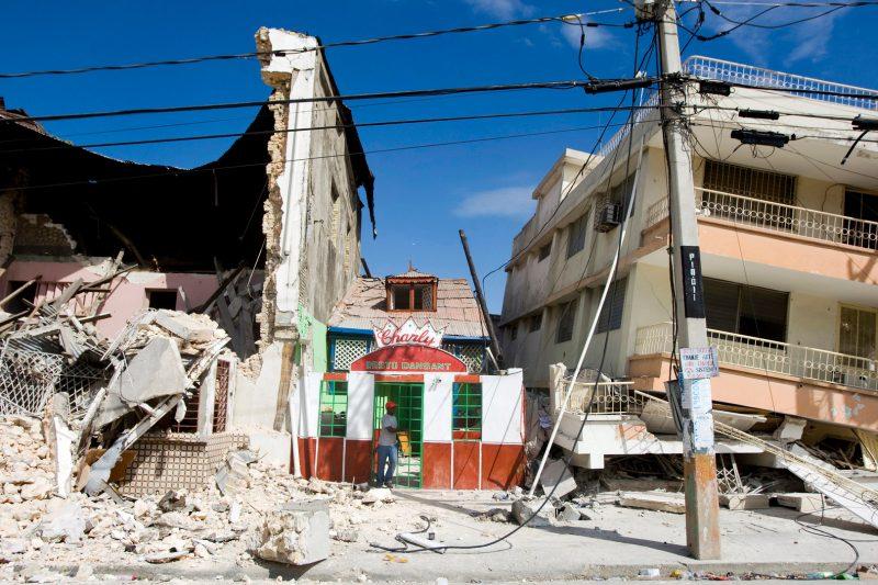 Trzęsienie ziemi na Haiti, styczeń 2010 Fot. Marco Dormino/ The United Nations
