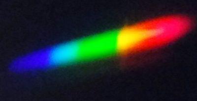 Widmo świecy. Fot. Crazy Nauka