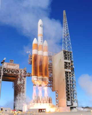 Start rakiety Delta IV Heavy Fot. NASA