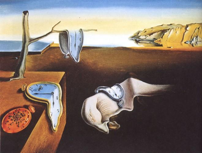 """""""Trwałość pamięci"""". Salwador Dali"""