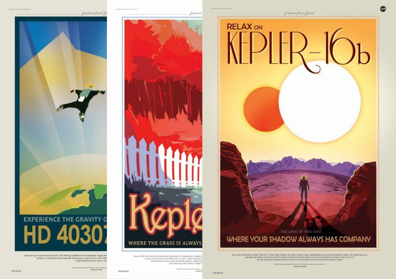 Podróżuj po planetach pozasłonecznych! Rys. NASA