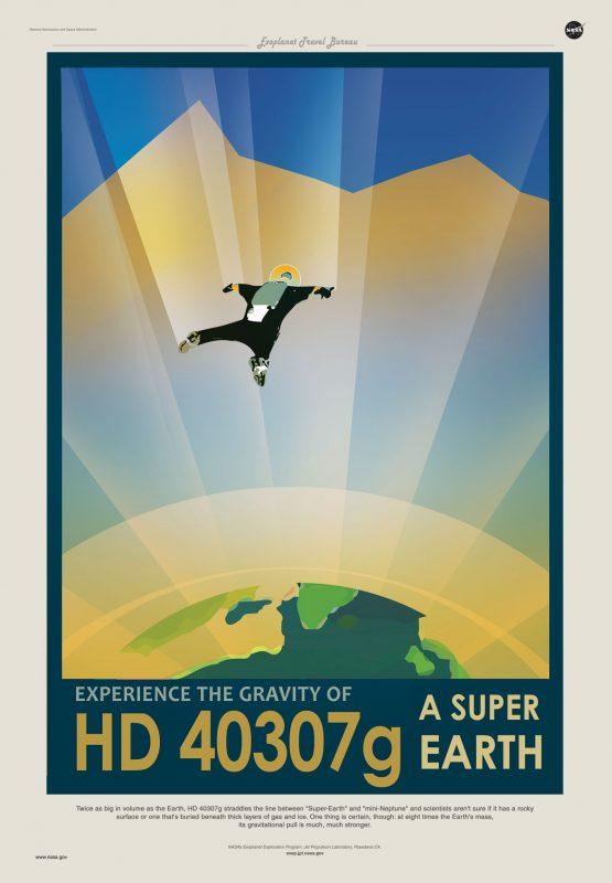 Doświadcz grawitacji superziemi HD 40307g Rys. NASA