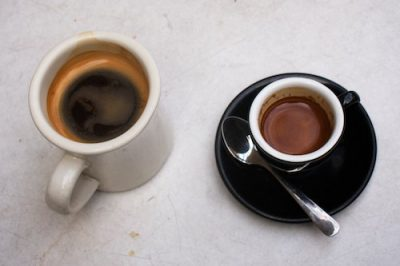 Americano-and-espresso