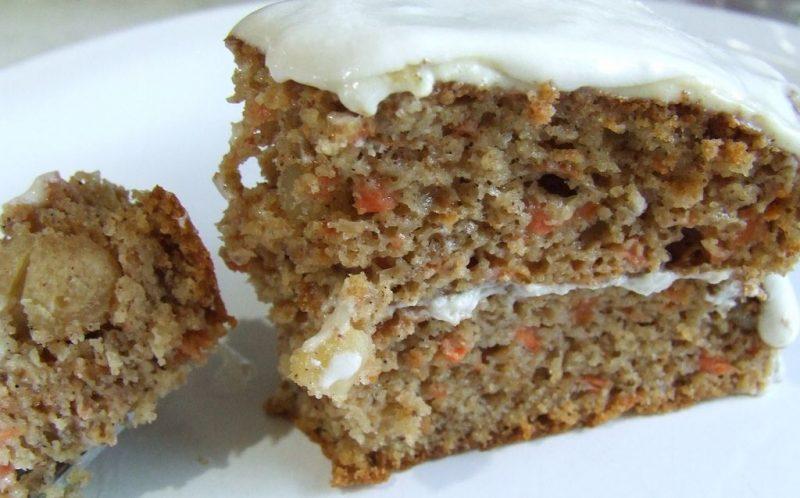 Ciasto marchewkowe bez glutenu. Fot. Cassidy