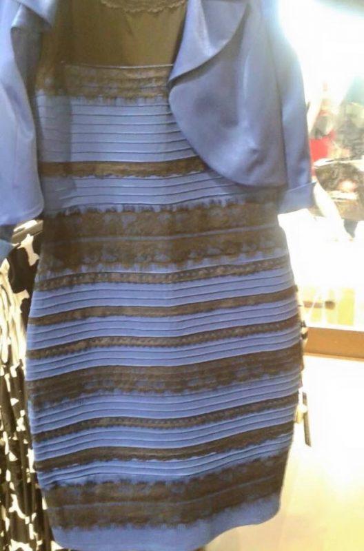 Jakiego koloru jest sukienka? Oto naukowe wyjaśnienie
