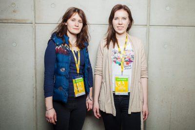 Joanna Jurek i Dominika Bakalarz, zdobywczynie III miejsca w Konkursie Naukowym E(x)plory 2015. Fot. E(x)plory