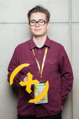 Wojciech Różowski, zwycięzca Konkursu Naukowego E(x)plory 2015. Fot. E(x)plory