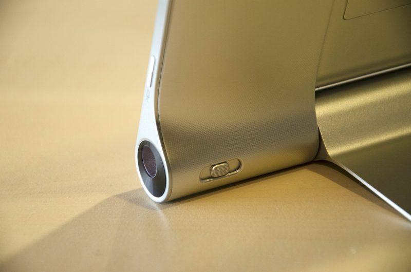 Lenovo Yoga Tablet 2 Pro - projektor i regulacja ostrości. Fot. CN