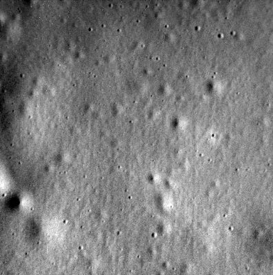 Ostatnie zdjęcie zrobione przez Messengera. Fot. NASA/Johns Hopkins University Applied Physics Laboratory/Carnegie Institution of Washington