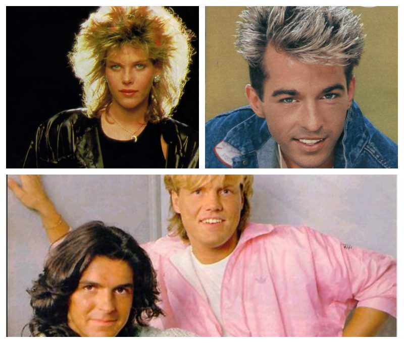 C.C. Catch. Limahl i Modern Talking