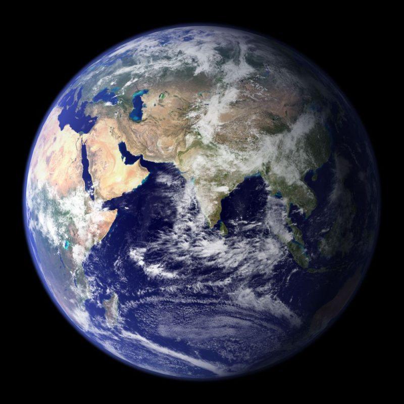 Ziemia, błękitny klejnot. Fot. NASA