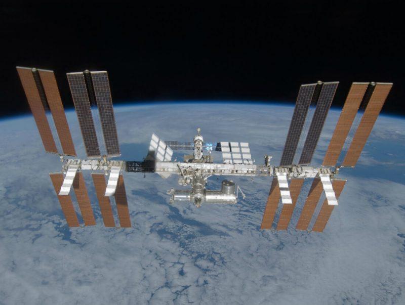 Międzynarodowa Stacja Kosmiczna. Fot. NASA