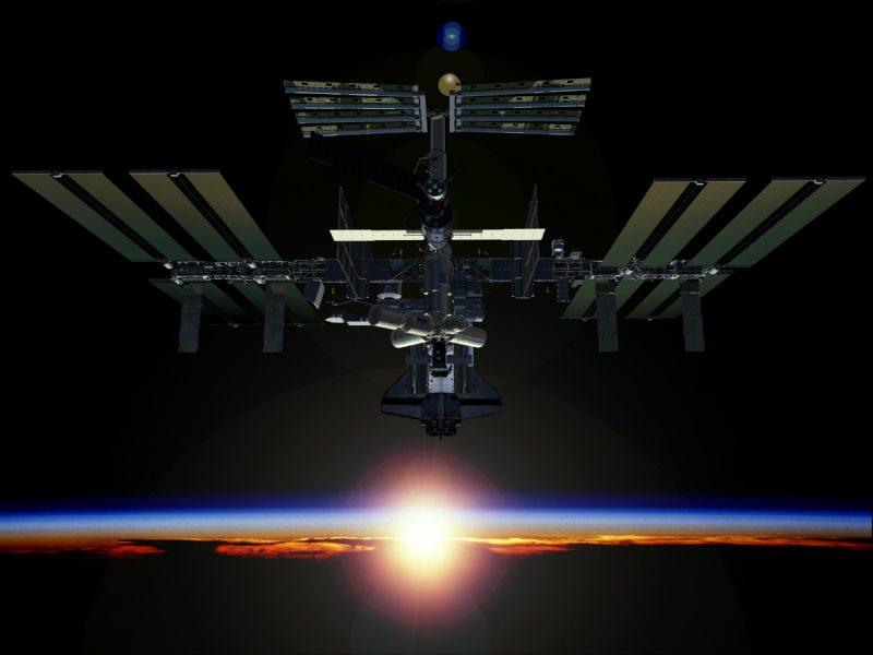 Międzynarodowa Stacja Kosmiczna. Źródło: NASA