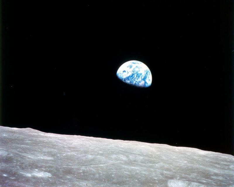 Ziemia widziana z Księżyca. Fot. NASA
