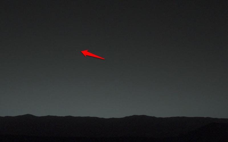 Ziemia widziana z Marsa. Fot. NASA