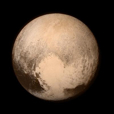 Zdjęcie Plutona zrobione z 766 000 km. Fot. NASA