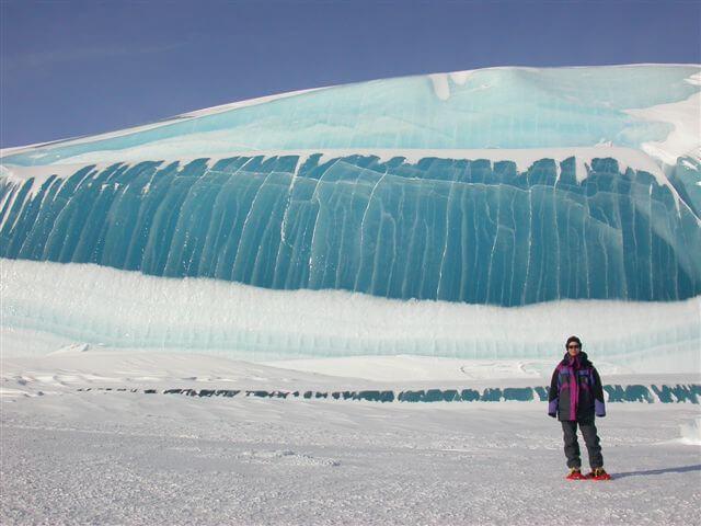 """""""Fala"""" na Antarktydzie. Fot. Tony Travouillon"""