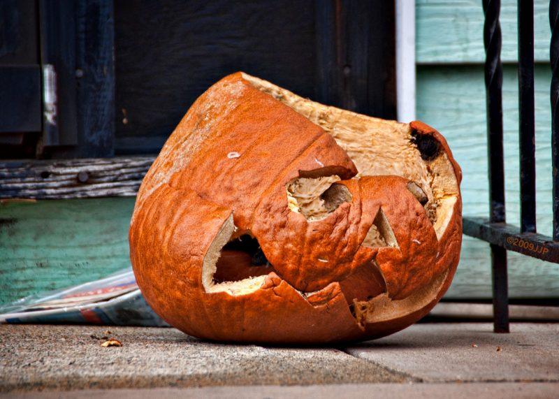 Trudne Halloween. Fot. J J