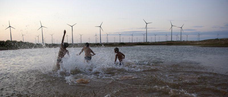 Farma wiatrowa w Danii. Fot. The Danish Wind Industry Association